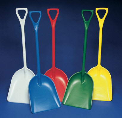 Plastic Shovel Heavy Duty 5 Colour Choices