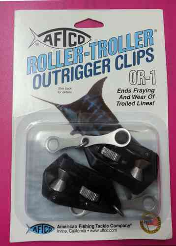 One Pair Aftco Roller Troller Outrigger Clip