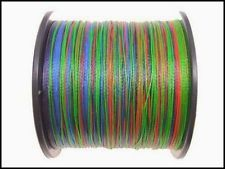 Multicoloured Dyneema Braid 11kg 16kg 25kg 36kg
