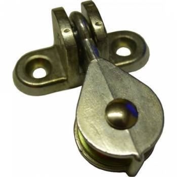 Single Pulley 25mm with Alloy Bracket