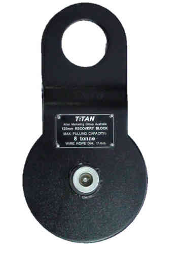 Pulley 8T Off-Road Snatch Block