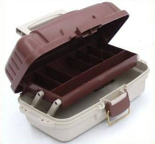 Tackle Box Delux 8-Single Tray