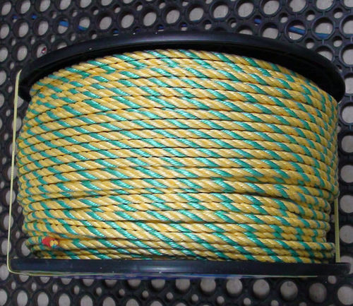 Yellow Green Safety Rope 8mm x 220m