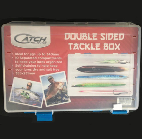 355mm x 231mm Double Sided Tackle Box