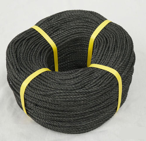 3 Strand Polyester Rope Black and Tarred FADs