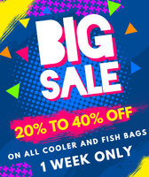 Read entire post: 20% - 40% OFF ALL COOLER BAGS AND FISH BAGS