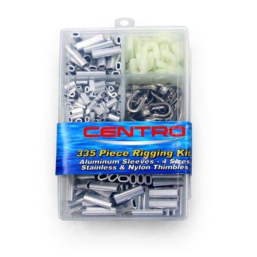 Centro Rigging Kit Alloy Crimps 335pc