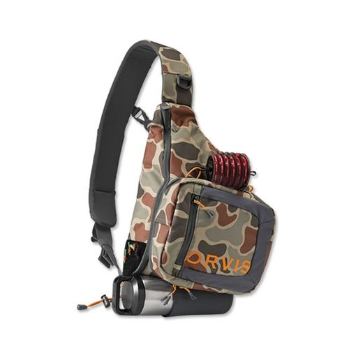 Orvis Pack Safe Passage Brown 23lt Camo Sling