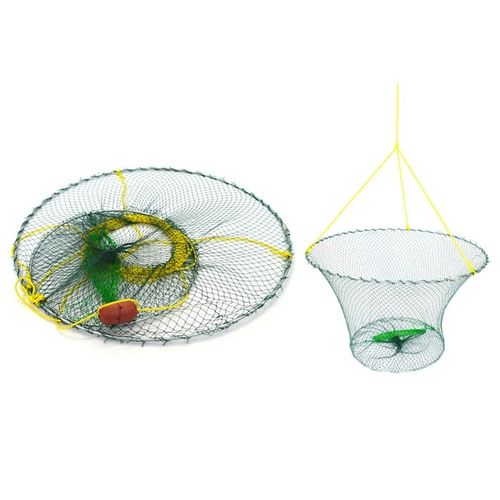 Crab Koura Net Trap 2-Ring with Rope