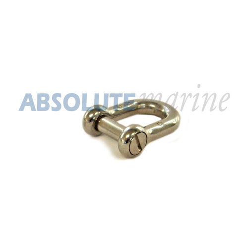 D Shackle Stainless Steel - 8mm (Socket drive)