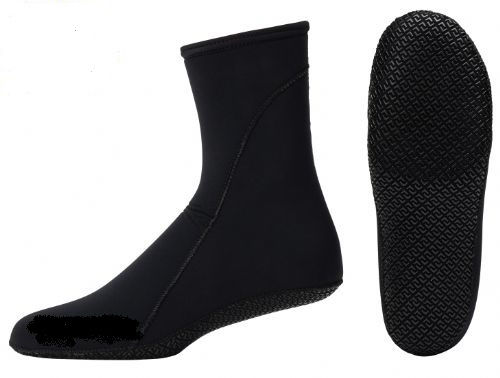 Free Diving Sock Large 2.2mm Black