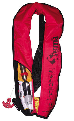 Sigma Manual Gas Inflate Lifejacket W-Harness
