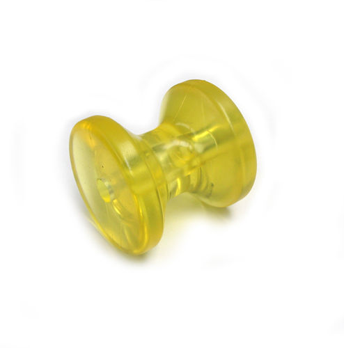 Bow Roller - Yellow - 75mm x 75mm