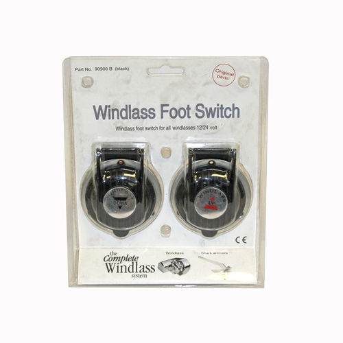 Anchor Foot Switch for Windlass Up & Down Black