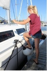 FenderStep™ for easy boarding on Boats