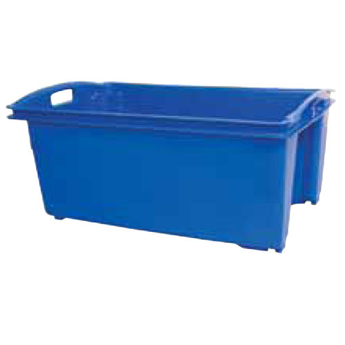 Commercial Red Fish Bin - 55L