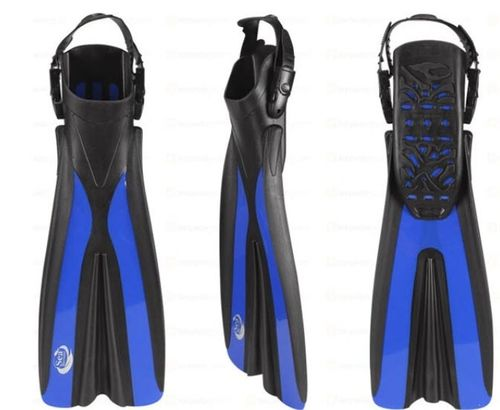 Sea Harvester Open Heel Dive Fins Blue L/XL