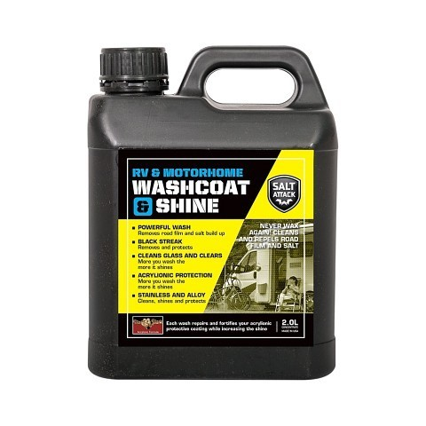 RV and Motorhome Washcoat and Shine 2L