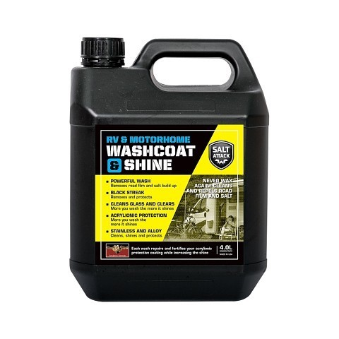 RV and Motorhome Washcoat and Shine 4L