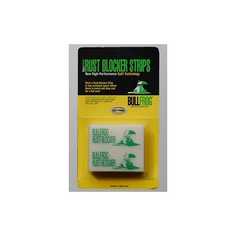 Bullfrog Rust Blocker Strips