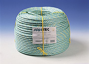 8mm x 250metre Aquatec Mono Rope White