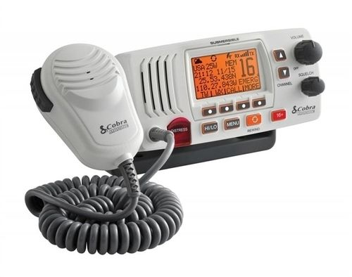 Cobra MR F57W Fixed Mount VHF Radio