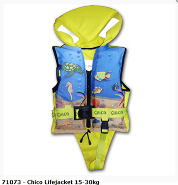 Chico-Child's Lifejacket 30-40kg