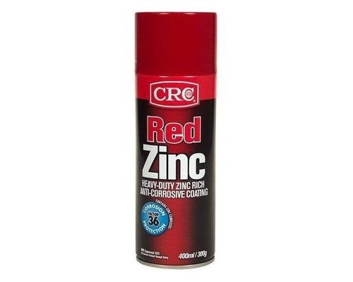 CRC Coloured Zinc 400ml - Red