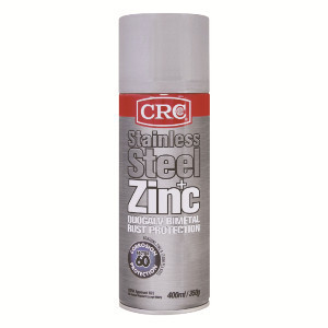 CRC Stainless Steel + Zinc Rust Protection