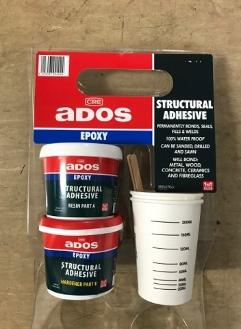 CRC ADOS  Epoxy Structural Adhesive Pack 500ml