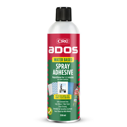 CRC Water Based Spray Adhesive 550ml