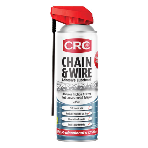 CRC Chain and Wire Lubricant Aerosol 400ml