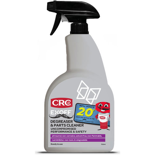 CRC EXOFF Degreaser and Parts Cleaner 750ml