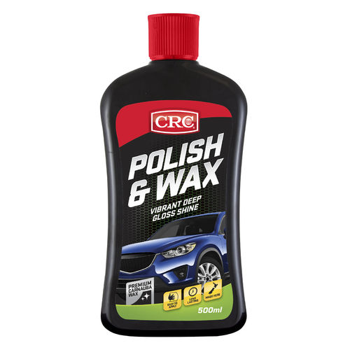 CRC Polish and Wax Bottle 500ml
