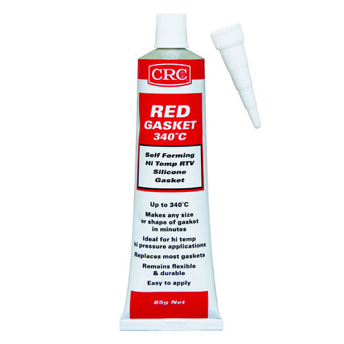CRC Red RTV Gasket 340 Cartridge 300g