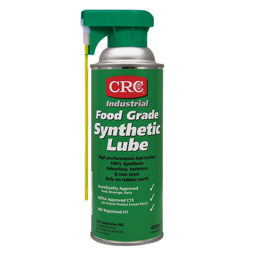 CRC Food Grade Synthetic Lube Aerosol 400ml