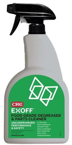 CRC EXOFF Food Grade Degreaser Trigger 750ml