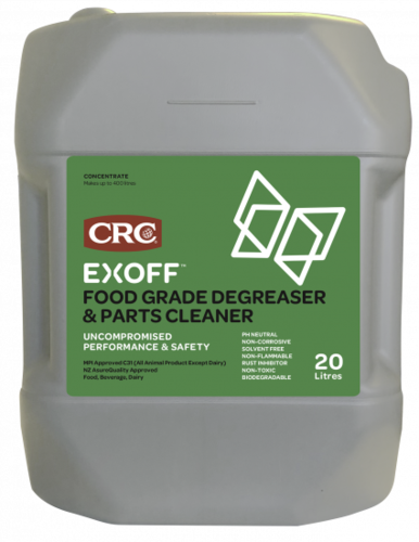 CRC EXOFF Food Grade Degreaser Can 20L