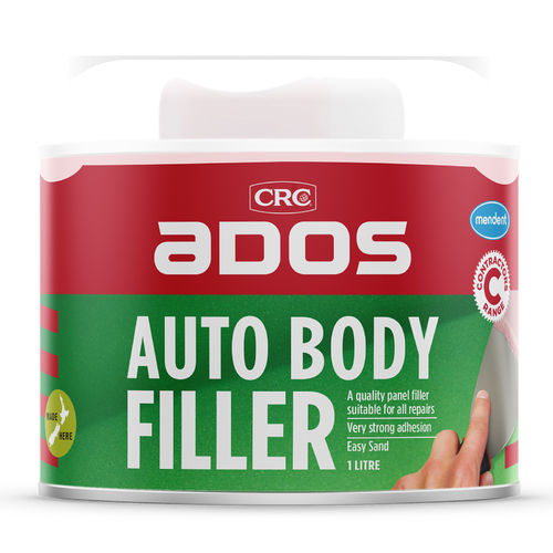 CRC ADOS Auto Body Filler Can 1L