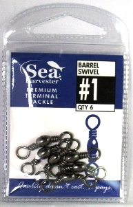 Barrel Swivel #1 PKT 6