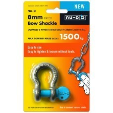 SHACKLE Easy Open Key BOW 8mm x 1500KG