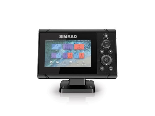 Simrad Cruise 5 with 83/200 Transducer & Charts
