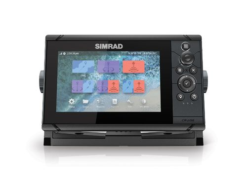 Simrad Cruise 7 with Transducer and Charts